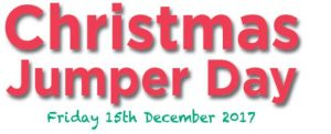 Christmas Jumper Day Friday 15th