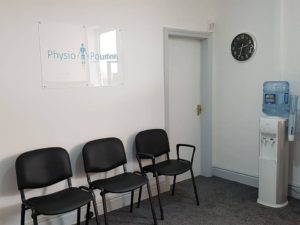 Newly Decorated Waiting Room
